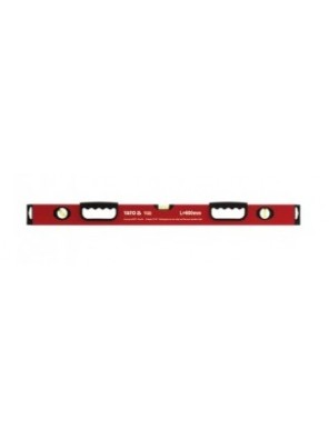 YATO Aluminium Spirit Level 600mm x 2Handle Hole YT3022