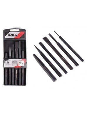 YATO Chisel And Punch Set 6pcs YT4712