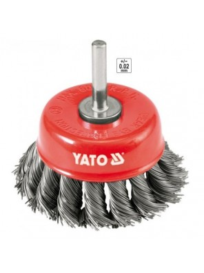 YATO Cup Brush With Shaft YT4752