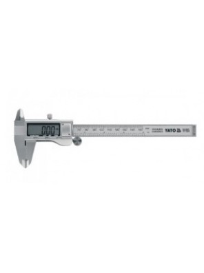YATO Digital Caliper S. Steel 0-150mm, +/-0.03mm YT7201