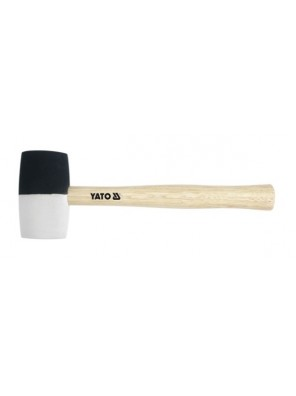 YATO Rubber Mallet With Wooden Handle 340G YT4601