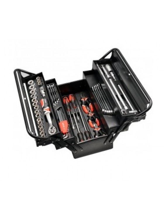 YATO Tool Box With Tools 63pcs YT3895