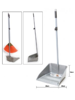 RAYACO 2.5`Iron Handle XL Dustpan 371