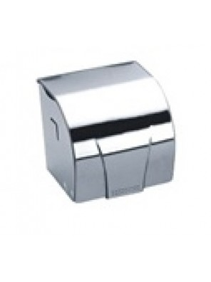 BARENO S/S Toilet Roll Holder c/w Cover PH-83A6
