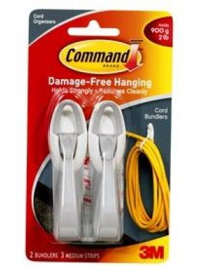 COMMAND Cord Bundle, Hold Up to 900G CODE:17304
