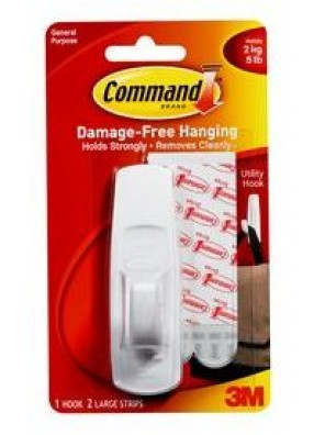 COMMAND Large Hooks, Hold Up to 2KG CODE:17003ANZ