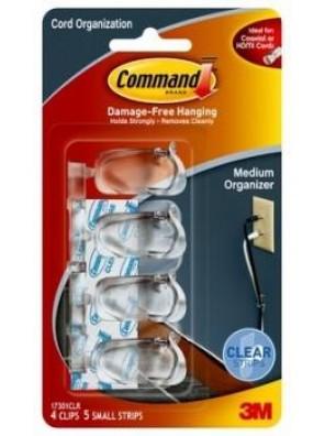 COMMAND Medium Cord Clips CODE:17301