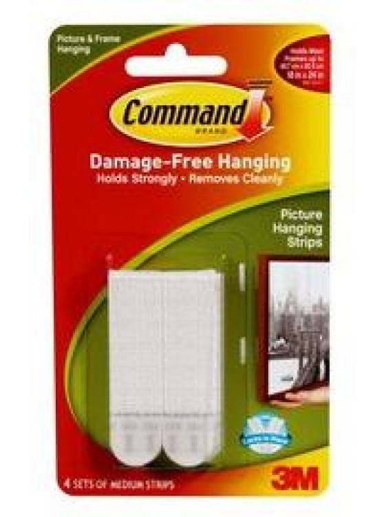 COMMAND Medium Picture Hanging Strips CODE:17201
