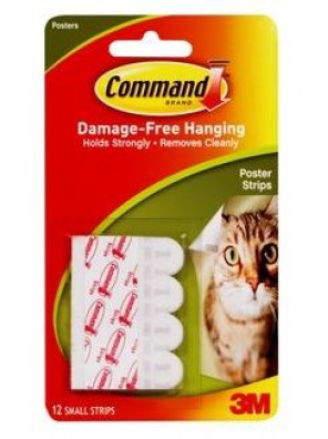 COMMAND Poster Strips(12 Str/Pkt) CODE:17024