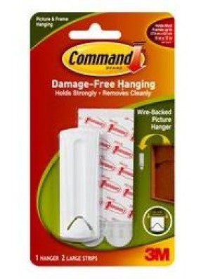 COMMAND Wire-backed Pic Hanger CODE:17041