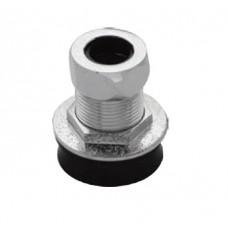 AIMER  Brass Chromed Urinal Metal Spud AMFV-602