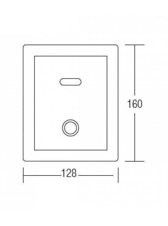 AIMER Sensor Wc Flush Valve . Ac Supply  AMFV-405