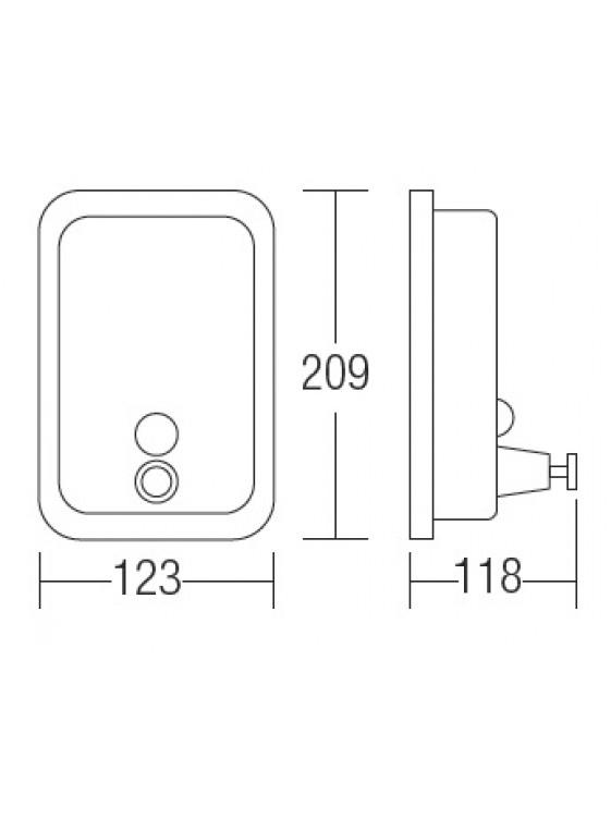 AIMER S/S SUS 304 Liquid Soap Dispenser  AMBA-1000