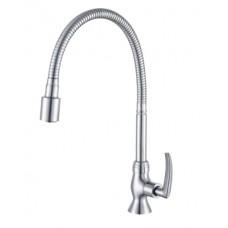 AIMER  Flexible Hose Kitchen Pillar Sink Tap AMFC-1958H