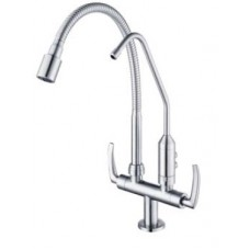 AIMER  Flexible hose Pillar Sink Tap c/w Filter AMFC-1960F