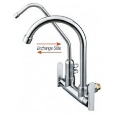 AIMER B/ Chrome Kitchen Wall Sink Tap c/w Filter AMFC-3659F