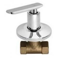 "AIMER 1"" Brass Chrome Stop Valve AMSV-3608"