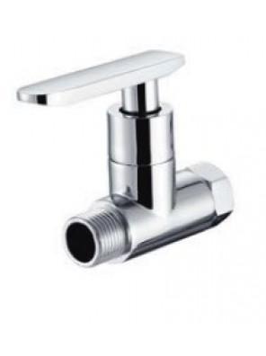 "AIMER 1/2"" Brass Chrome Water Heater Stop Valve AMSV-3644"