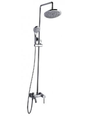 AIMER Brass Chrome 3 Way Expose Shower Set AMMX-5230