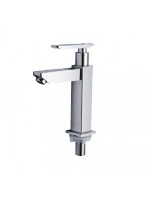 AIMER Brass Chrome Basin Pillar Tap AMFC-91292