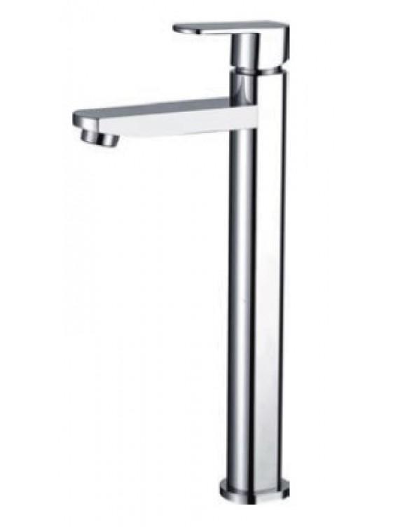 AIMER Brass Chrome Basin Pillar Tap Cold  (Tall) AMFC-5002