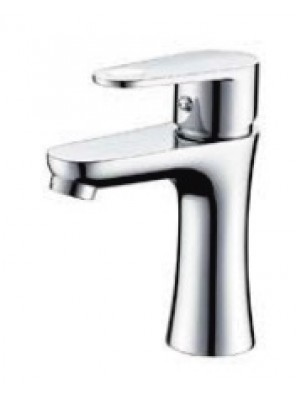 AIMER Brass Chrome Basin Pillar Tap Mixer AMMX-24243