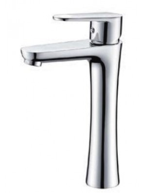 AIMER Brass Chrome Basin Pillar Tap Mixer (Tall) AMMX-24246