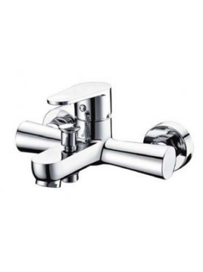 AIMER Brass Chrome Bath Shower Mixer with Tap AMMX-24316