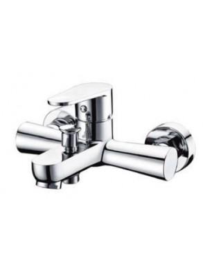 AIMER Brass Chrome Bath Shower Mixer with Tap AMMX-24316