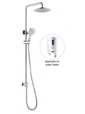 AIMER Brass Chrome Bath Shower Set (Water Heater) AMSP-5250