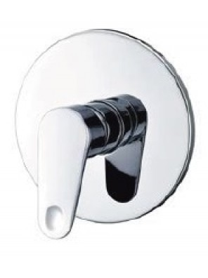 AIMER Brass Chrome Concealed Bath Shower Mixer AMMX-24215