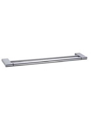 AIMER Brass Chrome Double Towel Rail 750mm AMBA-31804/750