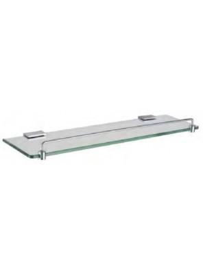 AIMER Brass Chrome Glass Shelf Size:500mm AMBA-31812