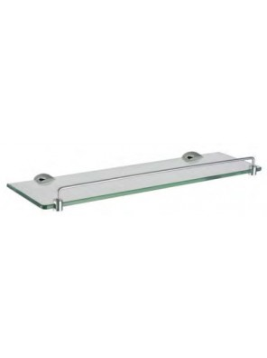 AIMER Brass Chrome Glass Shelf Size:500mm  AMBA-7512