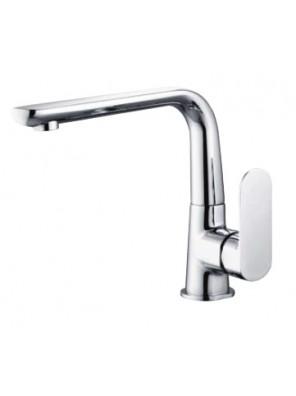 AIMER Brass Chrome Kitchen Pillar Sink Mixer AMMX-26201