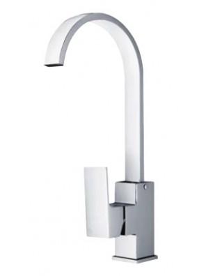 AIMER Brass Chrome Kitchen Pillar Sink Mixer AMMX-9202
