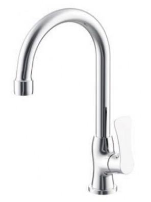 AIMER Brass Chrome Kitchen Pillar Sink Tap AMFC-2858