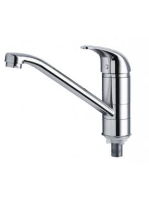 AIMER Brass Chrome Kitchen Pillar Sink Tap AMFC-3005
