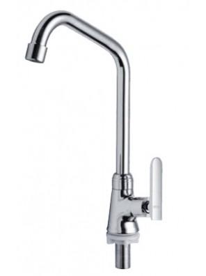 AIMER Brass Chrome Kitchen Pillar Sink Tap AMFC-3658A
