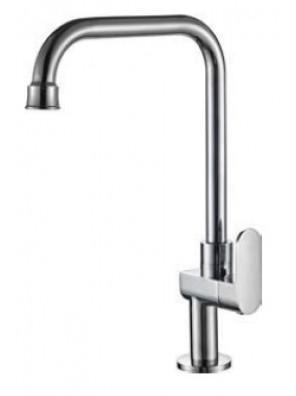AIMER Brass Chrome Kitchen Pillar Sink Tap AMFC-5010