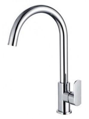 AIMER Brass Chrome Kitchen Pillar Sink Tap AMFC-5013