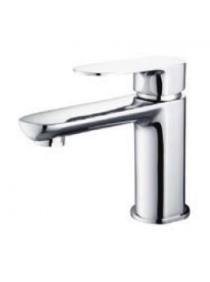 AIMER Brass Chrome Pillar Basin Mixer AMMX-26243