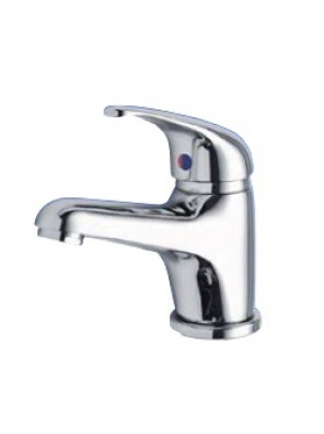 AIMER Brass Chrome Pillar Basin Mixer AMMX-3243