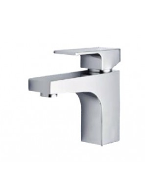 AIMER Brass Chrome Pillar Basin Mixer AMMX-9243