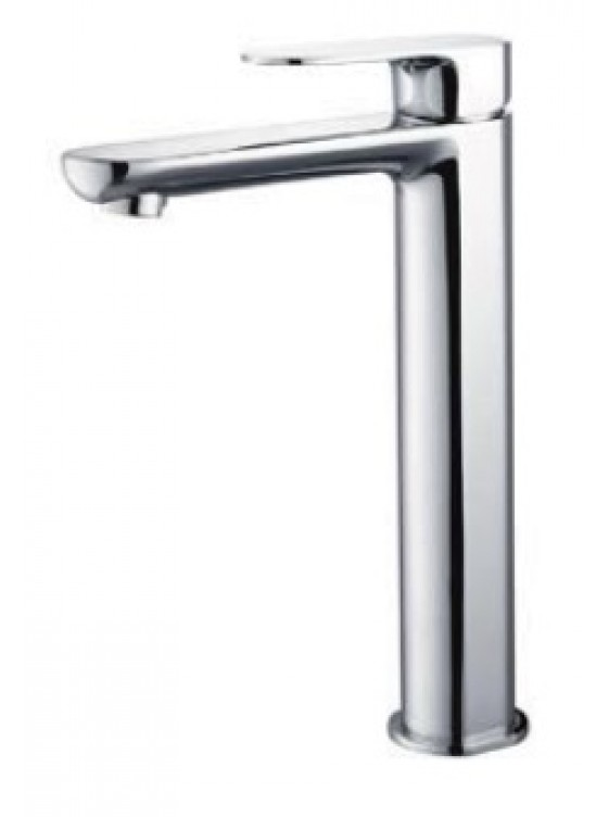 AIMER Brass Chrome Pillar Basin Mixer (Tall) AMMX-26246