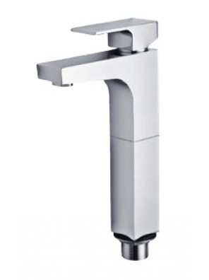 AIMER Brass Chrome Pillar Basin Mixer (Tall) AMMX-9246