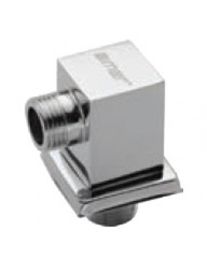 AIMER Brass Chrome Shower Connector (Square) AMACC-05/SQ