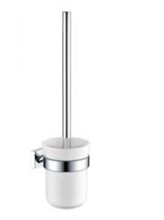 AIMER Brass Chrome Toilet Brush Holder AMBA-85811