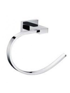 AIMER Brass Chrome Towel Ring AMBA-83808