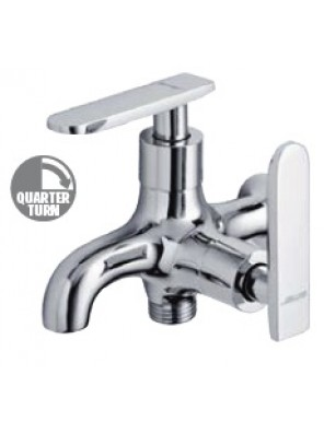 AIMER Brass Chrome Wall 2 Way Tap AMFC-3653